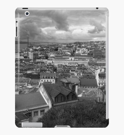 Lisbon Portrait BW iPad Case/Skin