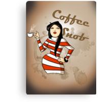 Coffee Snob Canvas Print