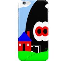 Robot Invasion (lighter version) iPhone Case/Skin