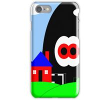 Robot Invasion (lighter version) iPhone Case/Skin
