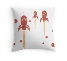 Rockets ahoy Throw Pillow