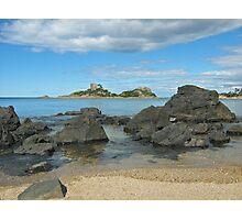 Goat Island- Northwest Coast Tasmania between Ulverstone and Penguin Photographic Print