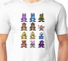 8-bit Five Nights at Freddy's Unisex T-Shirt