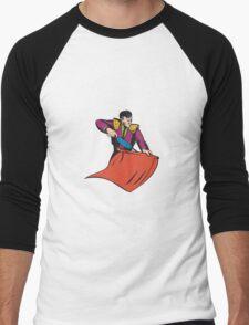 Bullfighter Matador Bullfighting Men's Baseball ¾ T-Shirt