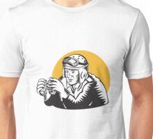 Military Tank Commander Binoculars  Unisex T-Shirt