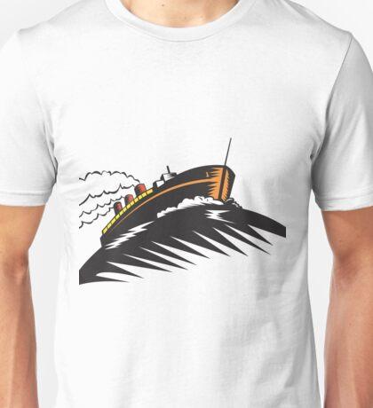 passenger cargo ship Unisex T-Shirt