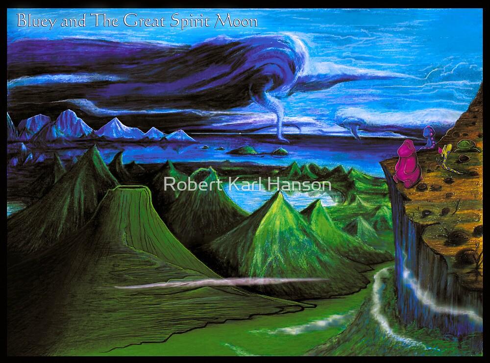 'Devastated Valley'  by Robert Karl Hanson