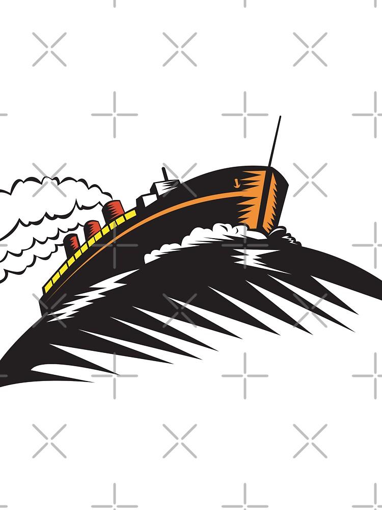 passenger cargo ship by patrimonio