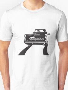 Pickup Truck Rear Retro  Unisex T-Shirt