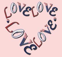 Edge American Heart by LoveLineAttire