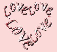Edge Heart Valentine by LoveLineAttire