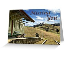 Left Behind Greeting Card
