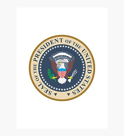 seal of the president of the united states of america  Photographic Print