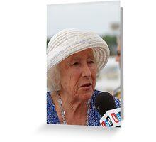 Dame Vera Lynn Greeting Card