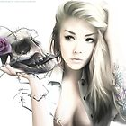 Girl With The Skull by LimonTea