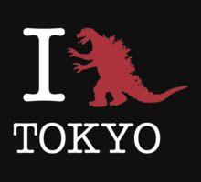 I Godzilla Tokyo by RexLambo