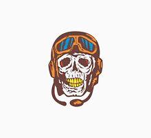 Skull Face Pilot Airman  Unisex T-Shirt