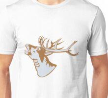 Stag Deer Roaring  Unisex T-Shirt