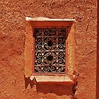 Mud Window - Morocco by Laurence McDonald