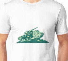 World War Two Battle Tank  Unisex T-Shirt
