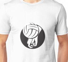 Volleyball Player Hitting Ball  Unisex T-Shirt
