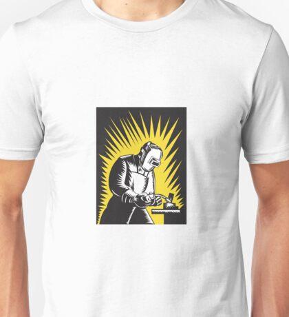 Welder Metal Worker Welding Retro   Unisex T-Shirt