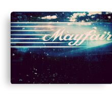 Mayfair Canvas Print