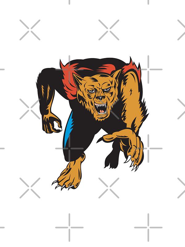 Werewolf Monster  by patrimonio