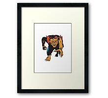 Werewolf Monster  Framed Print