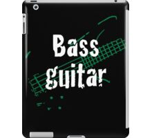 Bass Guitar iPad Case/Skin