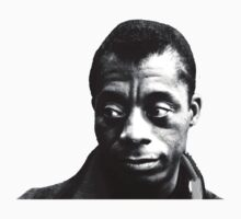 James Baldwin by bamanofski