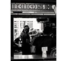 Kiosk Photographic Print