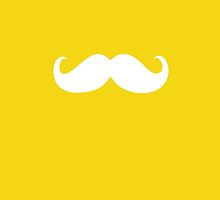 Funny white mustache 7 by Nhan Ngo
