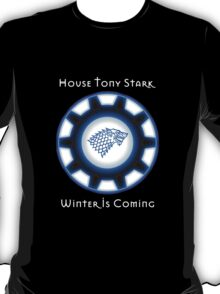 House Tony Stark - Winter is Coming T-Shirt