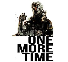 Metal Gear Solid - One More Time Photographic Print