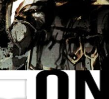 Metal Gear Solid - One More Time Sticker