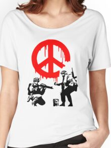 Peace Soldiers Women's Relaxed Fit T-Shirt