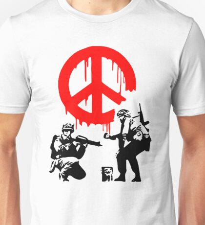Peace Soldiers Unisex T-Shirt