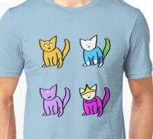 Adventure Time Kitties! (No text) Unisex T-Shirt
