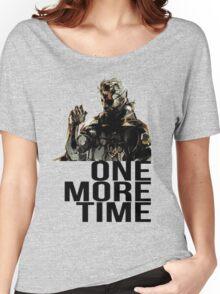 Metal Gear Solid - One More Time Women's Relaxed Fit T-Shirt