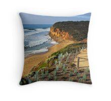 Bells Beach Throw Pillow