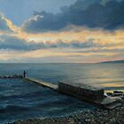 Sunset in Balchik by kirilart