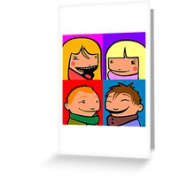 Cooper Kids Character Portrait Greeting Card