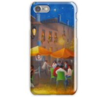 Starry Night Cafe Society iPhone Case/Skin