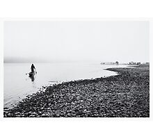 Life at Mekong River Photographic Print
