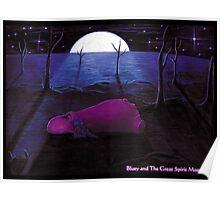 'Shee in the Barren Desert' Poster