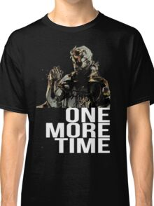 Metal Gear Solid - One More Time - White  Classic T-Shirt
