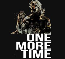 Metal Gear Solid - One More Time - White  Unisex T-Shirt
