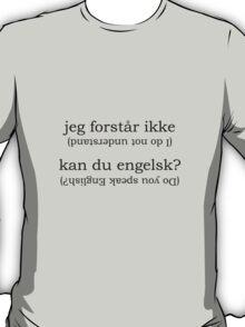 Point & Go Language Traveller Tee - Danish T-Shirt