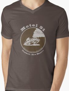 Motel 51 - Roswell Area 51 Alien UFO Mens V-Neck T-Shirt
